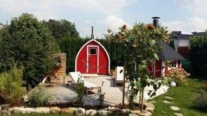 Outdoor Garden Sauna Igloo Design 1 5