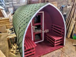 Outdoor Garden Sauna Igloo Design 1 6