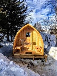 Outdoor Garden Sauna Igloo Design 2 1