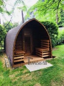 Outdoor Garden Sauna Igloo Design 2 2