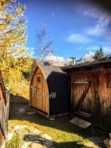 Outdoor Garden Sauna Igloo Design 2