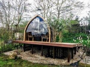 Outdoor Garden Sauna Igloo Design 2 4