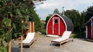 Outdoor Garden Sauna Igloo Design 2 5