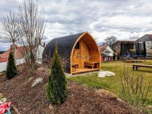 Outdoor Garden Sauna Igloo Design 2 8