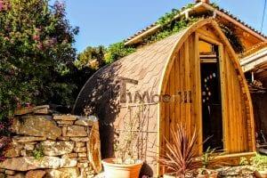 Outdoor Garden Sauna Igloo Design 3 8