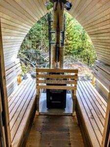 Outdoor Garden Sauna Igloo Design 4 3