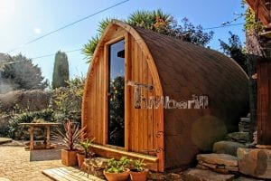 Outdoor Garden Sauna Igloo Design 4 7