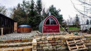 Outdoor Garden Sauna Igloo Design 4 8