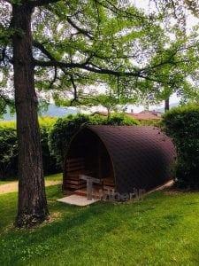 Outdoor Garden Sauna Igloo Design 5 2