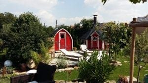 Outdoor Garden Sauna Igloo Design 5 4