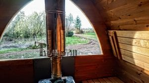 Outdoor Garden Sauna Igloo Design 5 6