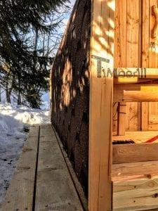 Outdoor Garden Sauna Igloo Design 6 2