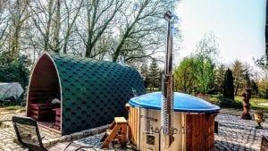 Outdoor Garden Sauna Igloo Design 6 3
