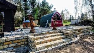 Outdoor Garden Sauna Igloo Design 7 2
