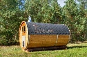 Barrel wooden thermo sauna 8