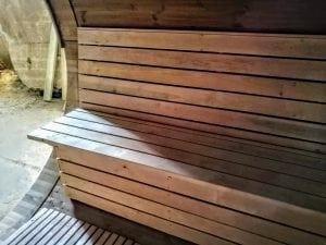 Outdoor Barrel Round Sauna 12