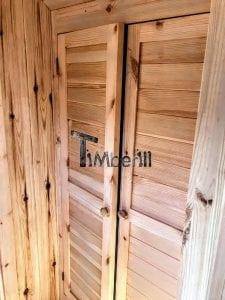 Outdoor Barrel Round Sauna 18 1