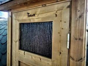 Outdoor Barrel Round Sauna 8