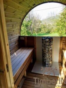 Outdoor barrel sauna 3 2