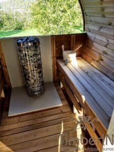 Outdoor barrel sauna 4 2
