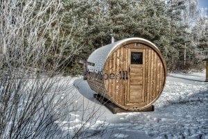 Outdoor barrel sauna 4