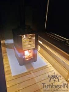 Outdoor barrel sauna 6 1