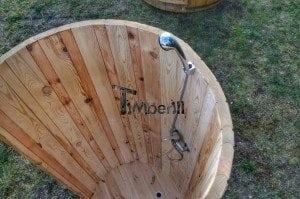 Outdoor wooden shower 9