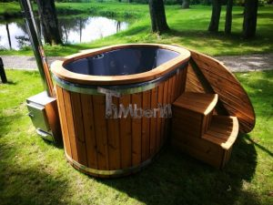 Ofuro outdoor bath tub for 2 persons 4