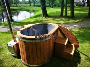 Ofuro outdoor bath tub for 2 persons 5