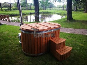 Ofuro outdoor bath tub for 2 persons 8