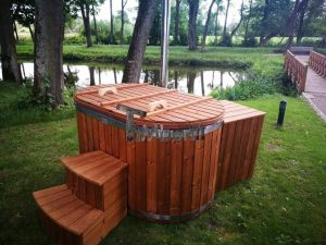 Ofuro outdoor bath tub for 2 persons 9