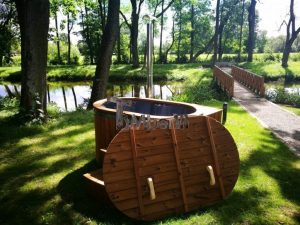 Ofuro outdoor spa for 2 persons 14