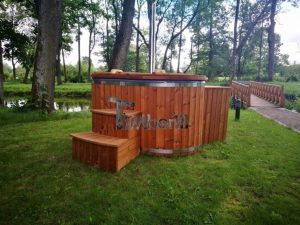 Ofuro outdoor spa for 2 persons 4