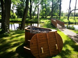 Ofuro outdoor spa for 2 persons 8