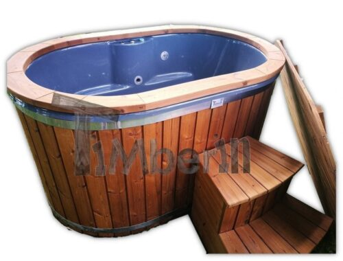 2 Person wooden hot tub
