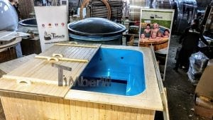Outdoor electric hot tub timberin 3