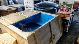 Outdoor electric hot tub timberin 4