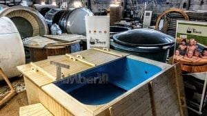 Outdoor electric hot tub timberin 5