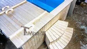 Outdoor electric hot tub timberin 6