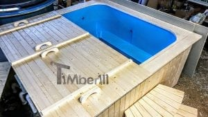 Outdoor electric hot tub timberin 7