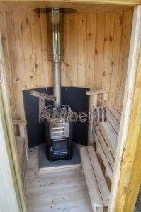 Wooden vertical sauna Harvia 10