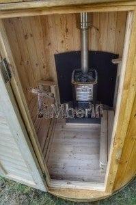 Wooden vertical sauna Harvia 11