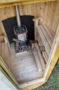 Wooden vertical sauna Harvia 13