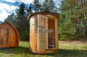 Wooden vertical sauna Harvia 5