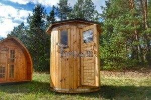 Wooden vertical sauna Harvia 6