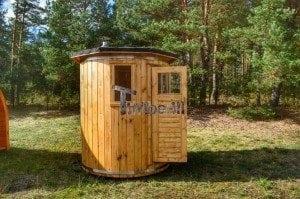 Wooden vertical sauna Harvia 7