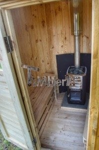 Wooden vertical sauna Harvia 9