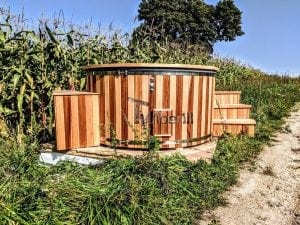 Electric outdoor hot tub Wellness Conical 14 1