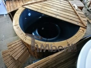 Electric outdoor hot tub Wellness Conical 15