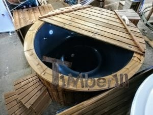 Electric outdoor hot tub Wellness Conical 16